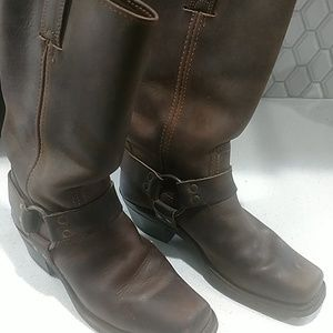 Frye Brown Engineer Boots size 7.5M